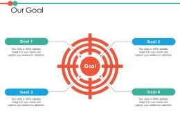 Our Goal Ppt Powerpoint Presentation File Professional