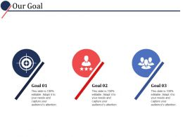 Our Goal Ppt Powerpoint Presentation File Templates