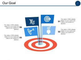 Our Goal Ppt Powerpoint Presentation File Visual Aids