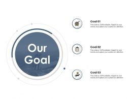 Our Goal Ppt Powerpoint Presentation Outline Skills