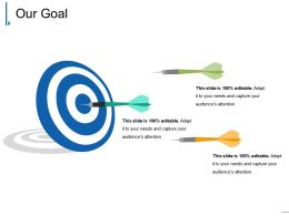 Our Goal Ppt Presentation Template 1