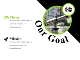Our Goal Ppt Presentation Template 2
