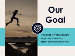 Our Goal Ppt Professional