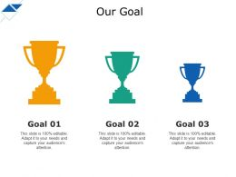 Our Goal Ppt Professional Background Designs