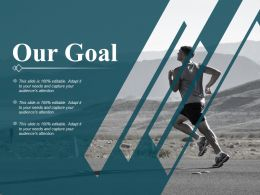 Our Goal Ppt Professional Brochure