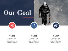Our Goal Ppt Professional Graphics Template