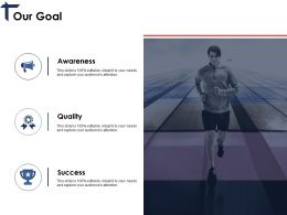 Our Goal Ppt Professional Inspiration