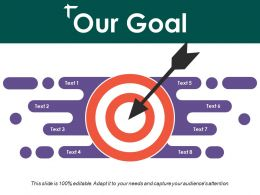 Our Goal Ppt Sample