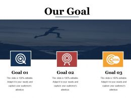 Our Goal Ppt Sample Presentations