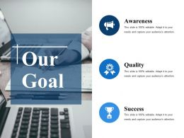 Our Goal Ppt Samples Download