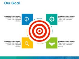 Our Goal Ppt Show Model