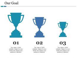 Our Goal Ppt Slides Background Images