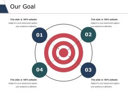 Our Goal Ppt Slides Maker