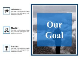 Our Goal Ppt Styles