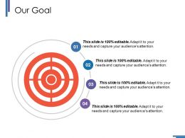 Our Goal Ppt Styles Grid