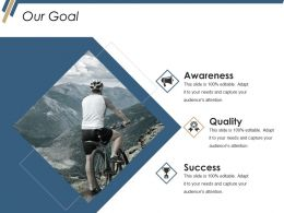 Our Goal Ppt Summary