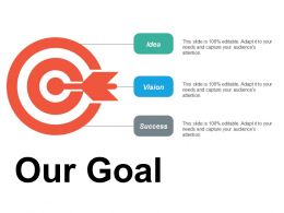 Our Goal Ppt Summary Background Images