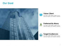 Our Goal Ppt Summary Examples