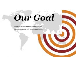 Our Goal Ppt Summary Slides