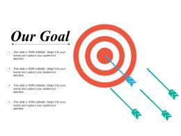 Our Goal Presentation Background Images