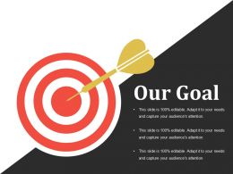 Our Goal Presentation Outline Template 2