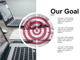 Our Goal Presentation Powerpoint