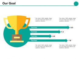 Our Goal Slide2 Ppt Styles File Formats