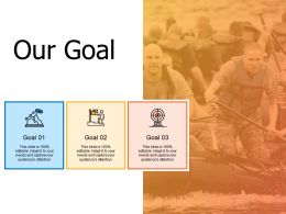 Our Goal Success A469 Ppt Powerpoint Presentation Ideas Graphics Example