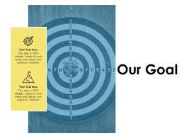 Our Goal Success Arrows D255 Ppt Powerpoint Presentation Icon Outline