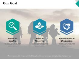 Our Goal Success Competition Ppt Inspiration Graphics Example