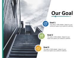 Our Goal Success Ppt Professional Graphics Download