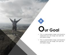 Our Goal Target B268 Ppt Powerpoint Presentation Ideas Graphics