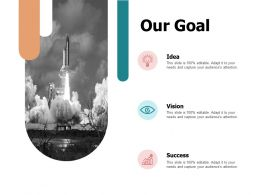 Our Goal Vision A669 Ppt Powerpoint Presentation Layouts Format