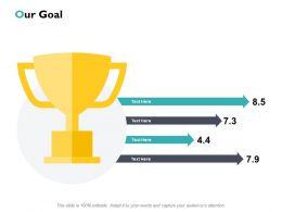 Our Goal Winner J176 Ppt Powerpoint Presentation File Guide