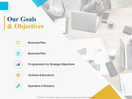 Our Goals And Objectives Ppt Powerpoint Presentation Slides Graphic Images