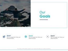Our Goals Arrows D32 Ppt Powerpoint Presentation Slides Diagrams
