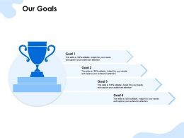 Our Goals Attention Ppt Powerpoint Presentation Styles Graphics Pictures