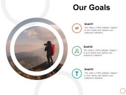 Our Goals Management L472 Ppt Powerpoint Presentation Gallery Master Slide