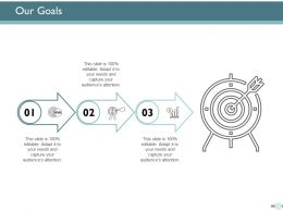 Our Goals Marketing Management Ppt Powerpoint Presentation Ideas Outline