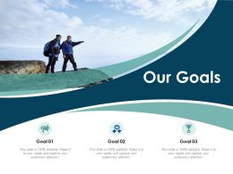 Our Goals Planning I404 Ppt Powerpoint Presentation Outline Picture
