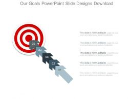 Our Goals Powerpoint Slide Designs Download