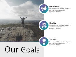 Our Goals Powerpoint Templates Download