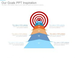 Our Goals Ppt Inspiration