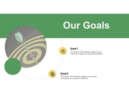 Our Goals Ppt Powerpoint Presentation Summary Infographic Template