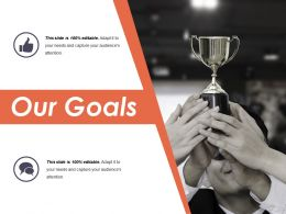 Our Goals Presentation Powerpoint Example