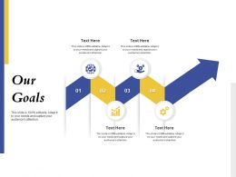 Our Goals Targets Ppt Powerpoint Presentation Summary Infographics