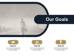 Our Goals Winner Target L439 Ppt Powerpoint Presentation Images