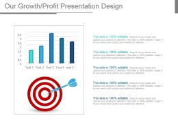 Our Growth Profit Presentation Design
