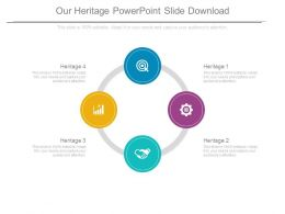Our Heritage Powerpoint Slide Download