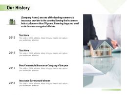 Our History Ppt Powerpoint Presentation Professional Styles